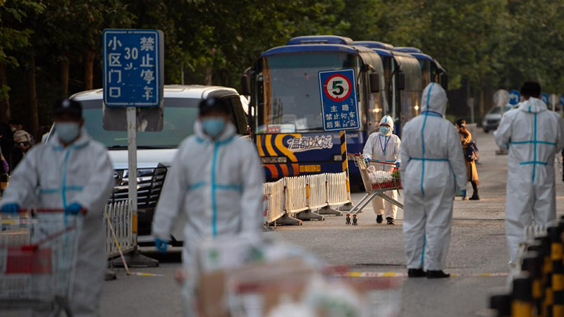 北京市昌平區、コロナ高リスク地域を封鎖管理