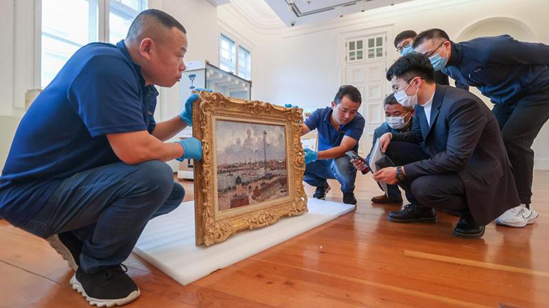 第4回輸入博、第1陣の蕓術品が臨時輸入手続きを完了 上海市