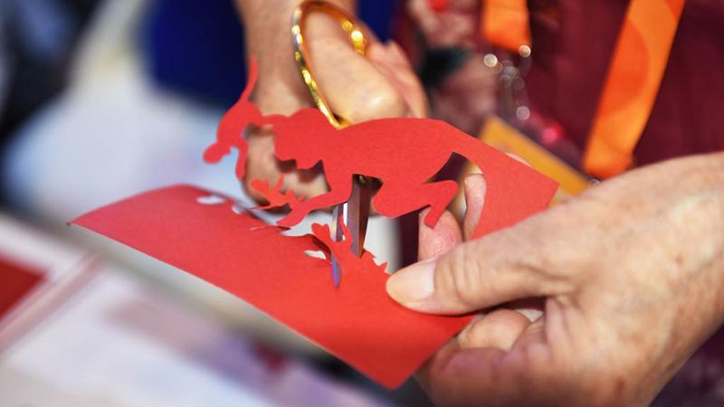 國際サービス貿易交易會、注目集めた中國色豊かな展示品