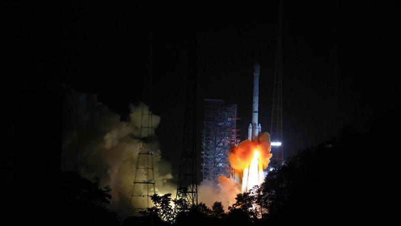 中國、通信衛星「中星9B」打ち上げ成功