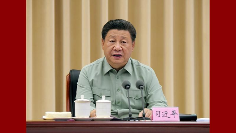 習近平氏、陝西省駐屯部隊の基地を視察