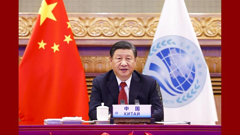 習近平主席、SCO加盟国元首理事会第21回会議に出席