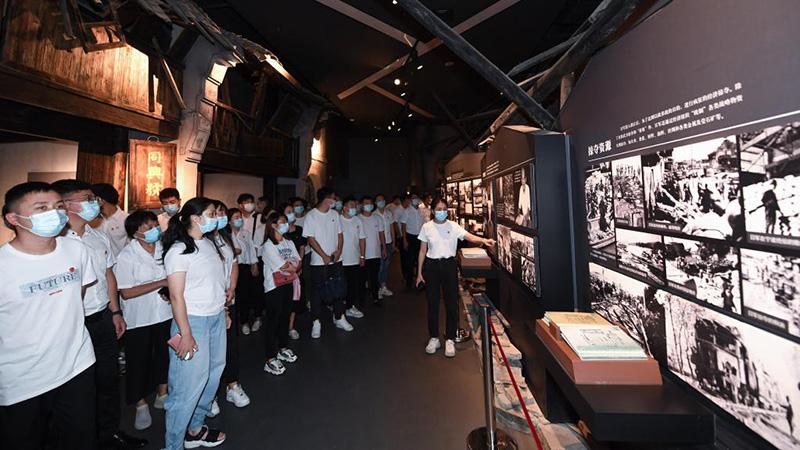 「九・一八」記念活動を開催 浙江省杭州市
