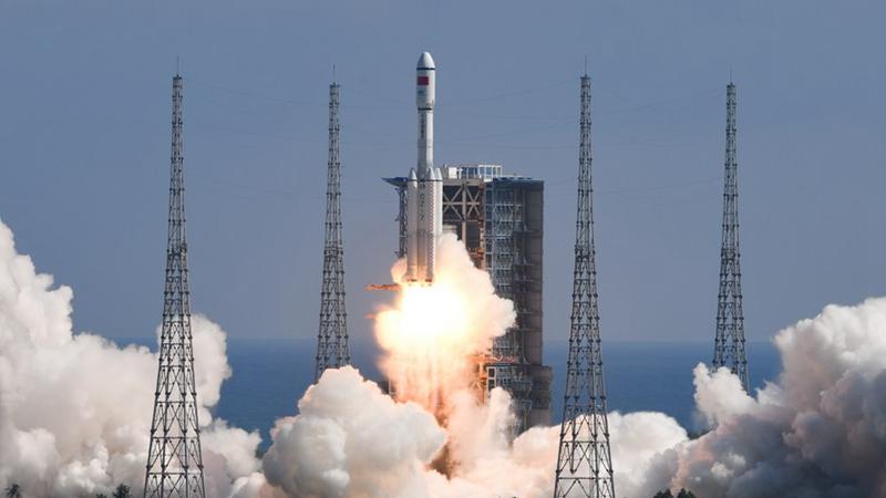 中國、宇宙貨物船「天舟3號」の打ち上げに成功