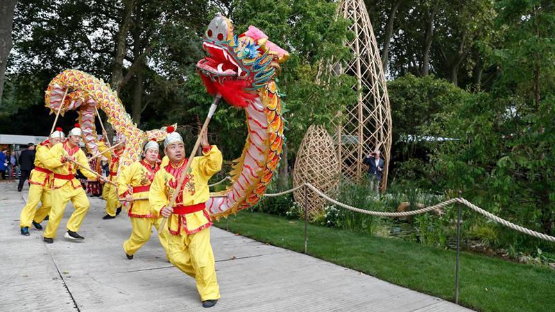 英チェルシーフラワーショーで「広州ガーデン」が金賞