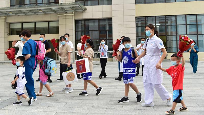 新型コロナから回復した8人が退院 福建省莆田市