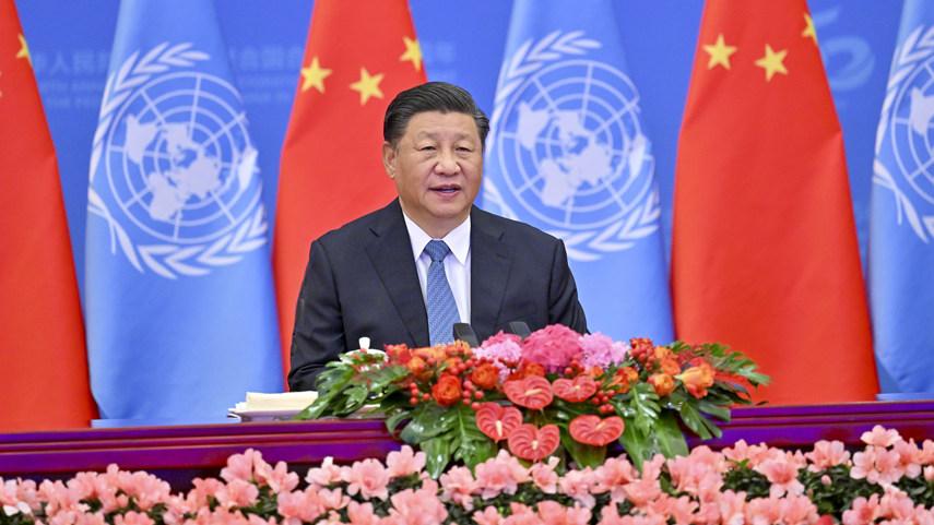 習近平主席、中國の國連議席回復50周年記念會議で重要演説